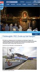 Fototerugblik PEC Zwolle op Sail Kampen - Nieuwsarchief - PEC Zwolle